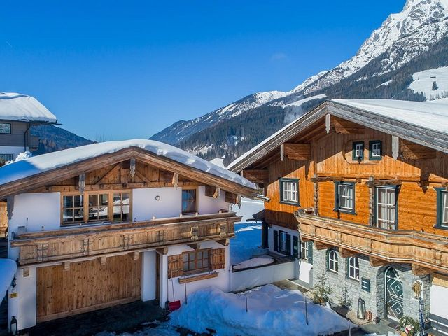 Chalet Eder in Leogang im Winter